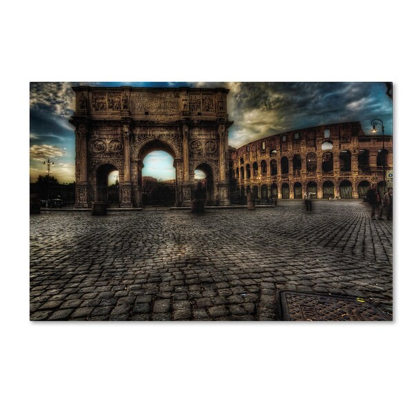 Erik Brede 'One Evening in Rome' Canvas Art