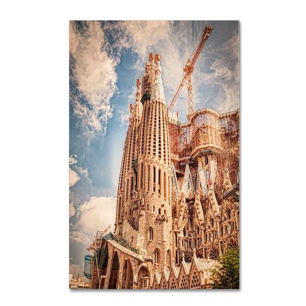 Erik Brede 'Sagrada Familia' Canvas Art