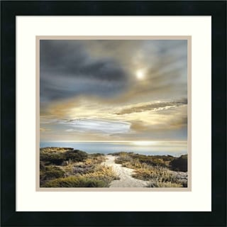William Vanscoy 'Sense of Direction' Framed Art Print 18 x 18-inch