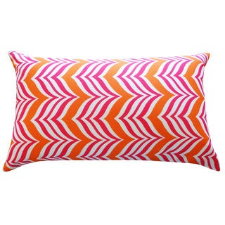 Mosque Pink Orange Throw Pillow