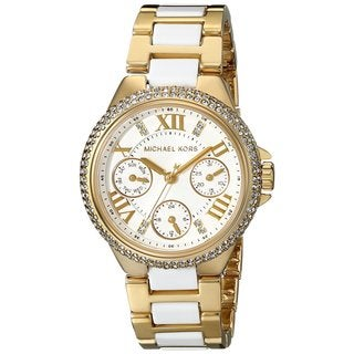 Michael Kors Women's MK5945 Camille Gold and Acetate Watch