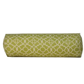 Moroccan Green Throw Pillow