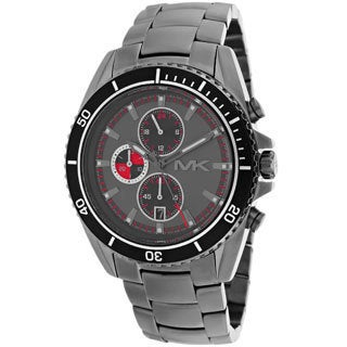 Michael Kors Men's MK8340 'Lansing' Gunmetal Stainless Steel Watch