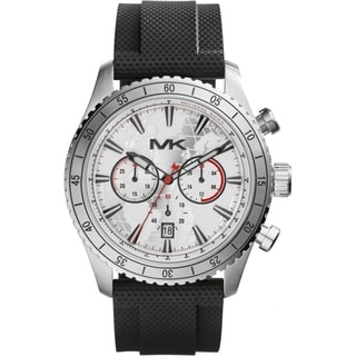 Michael Kors Men's MK8353 Chronograph Black Silicone Watch