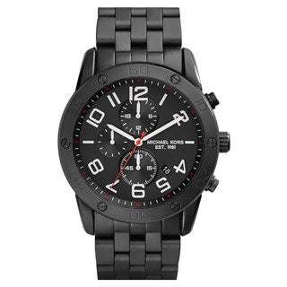 Michael Kors Men's MK8350 'Mercer' Chronograph Black Bracelet Watch