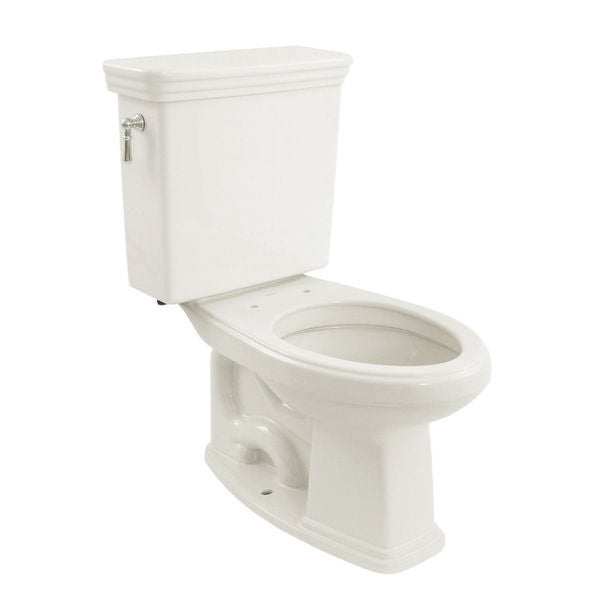TOTO CST424SFG-01 Promenade G-Max Elongated Bowl and Tank Universal Height, 1.6 GPF, Cotton White