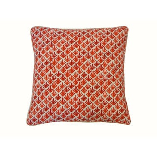 20 x 20-inch Yucca Red Throw Pillow