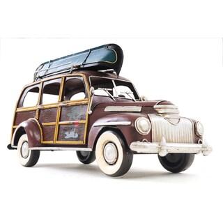 1947 Chevrolet Suburban and Canoe 1:12 Scale Model