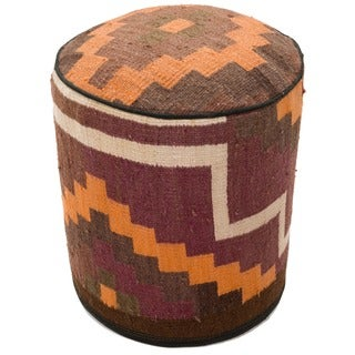 Stylish Western Flair Ottoman