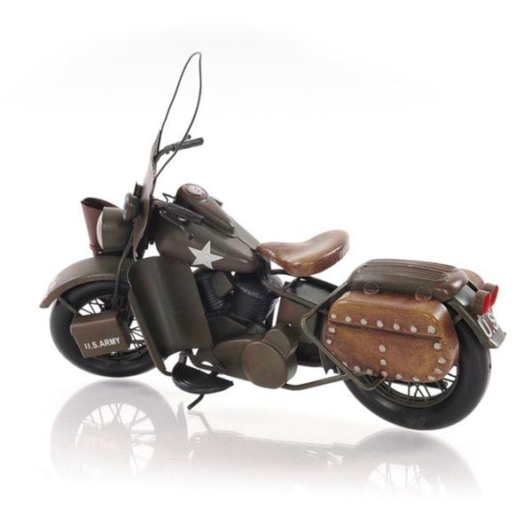 1942 WLA Model 1:12 Scale Model Motorcycle