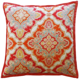 20 x 20-inch Zoso Tangerine Throw Pillow