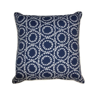 Jiti Dunkin Navy Throw Pillow