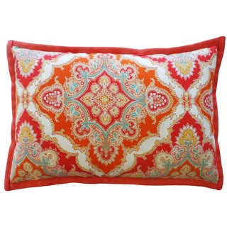 Zoso Tangerine Throw Pillow