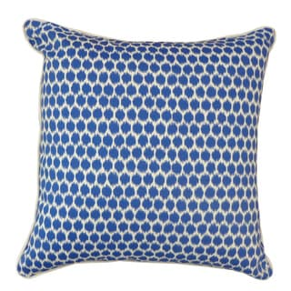 Splotch Blue Pillow