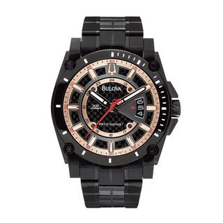 Bulova Men's Precisionist Carbon Fiber 300M Water Resistant Watch