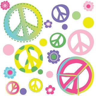 Peel & Stick Peace Out! Wall Decal