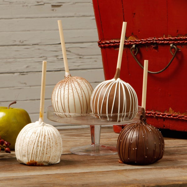 Aly's Apples Chocolate Lovers Caramel Apples (Set of 4)