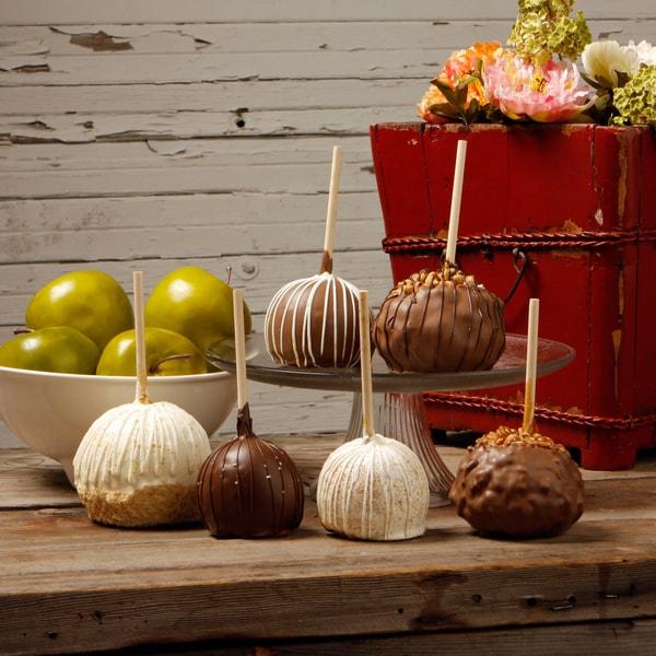 Aly's Sweet Indulgence Caramel Apples (Set of 6)