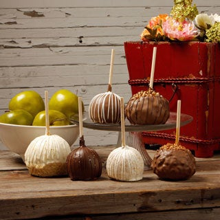 Aly's Sweet Indulgence Caramel Apples (Set of 6)