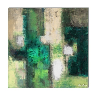 Alexis Bueno 'Bueno Exchange LIV' Canvas Art Print
