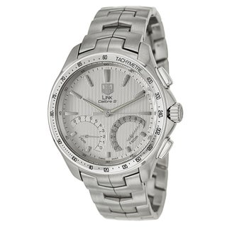 Tag Heuer Men's 'Link' Stainless Steel Chronograph Retrograde Tachymeter Watch