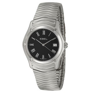 Ebel Men's 'Classic' Stainless Steel Swiss Quartz Watch