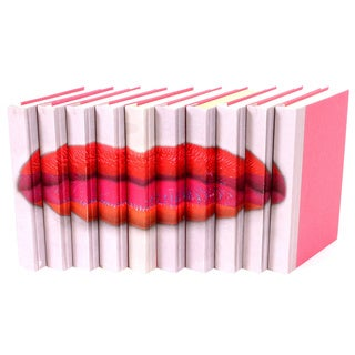 Lips Decorative Books Color (Set of 10)