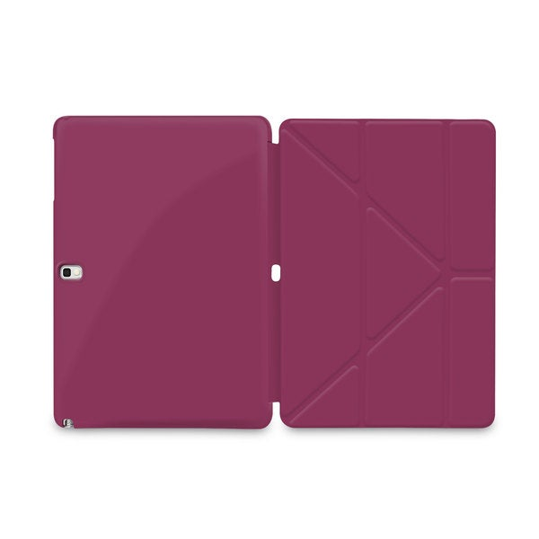 rooCASE Slim Shell Origami Samsung Galaxy Tab Pro 10.1 SM-T520/ Note 10.1 Folio Case Cover