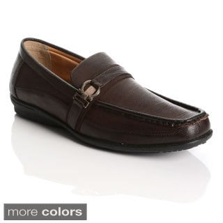 James Marten London Men's Casual Slip-on Dress Shoes