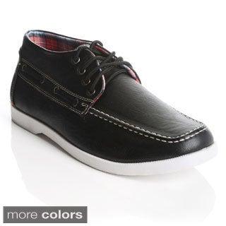 James Marten London Men's Mid-cut Lace-up Casual Shoes