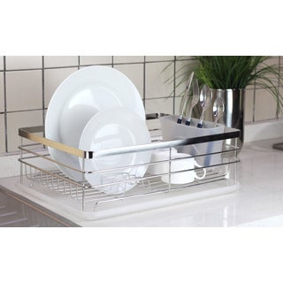 Square Stainless Steel Dish Rack