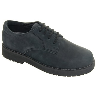 Academie Gear Boy's 'James' Leather Shoes with Laces