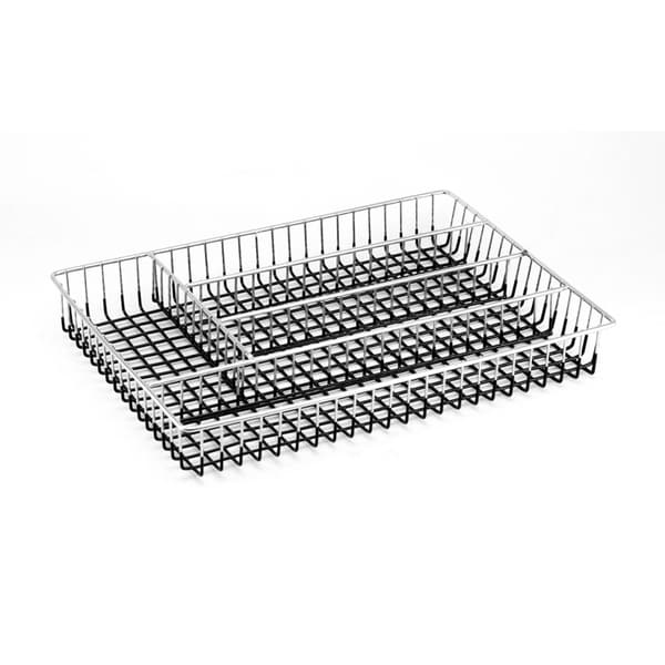 Chrome Metal Wire Flatware/ Cutlery Tray