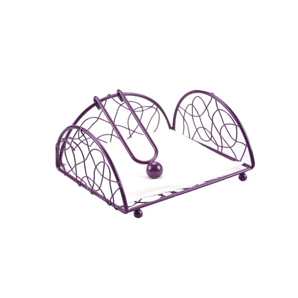 Powder Coated Metal Wire Napkin Holder