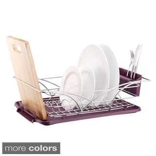 Chrome Plated Steel Multi-function Dish Rack