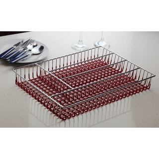 5-compartment Metal Wire Cutlery Tray