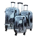 Kemyer World Series II Central Park 3-piece Hardside Spinner Luggage Set