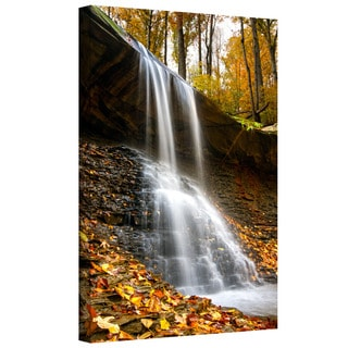 Cody York 'Blue Hen Falls 2' Gallery-wrapped Canvas