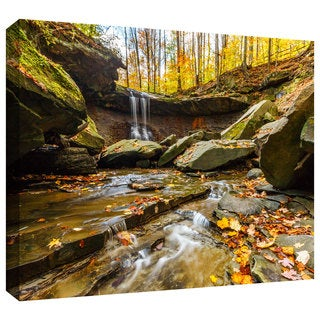 Cody York 'Blue Hen Falls 3' Gallery-wrapped Canvas