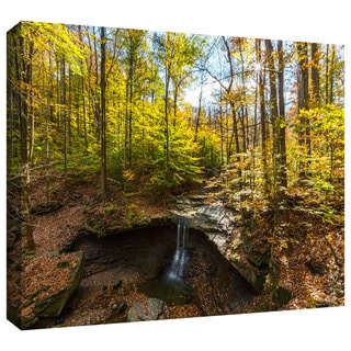 Cody York 'Blue Hen Falls' Gallery-wrapped Canvas