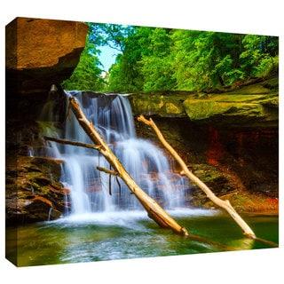 Cody York 'Brecksville Falls' Gallery-wrapped Canvas