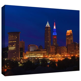Cody York 'Cleveland 5' Gallery-wrapped Canvas