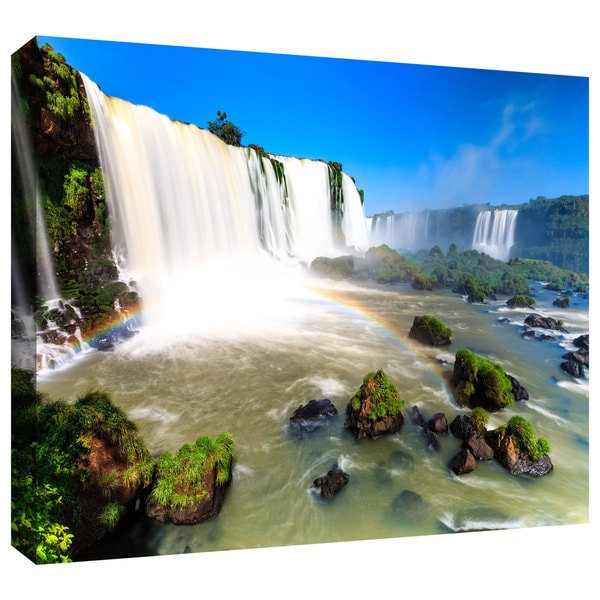 Cody York 'Iguassu Falls 3' Gallery-wrapped Canvas