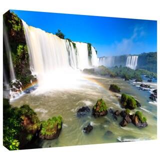Cody York 'Iguassu Falls 3' Gallery-wrapped Canvas