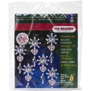 Holiday Beaded Ornament Kit-Filigree Dangler