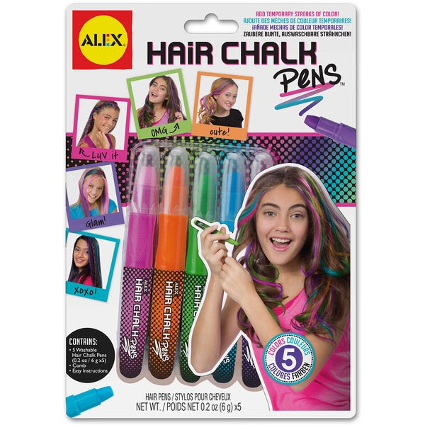 Hair Chalk Pens-Assorted Colors 13276114
