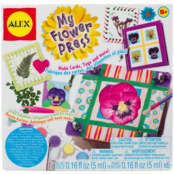 My Flower Press Kit