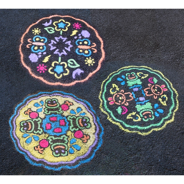 Sidewalk Mandala Kit-Garden