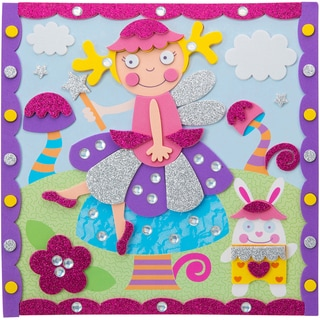 Sparkly Sticker Pictures Kit-Fairy