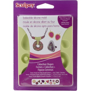 Sculpey Silicone Bakeable Mold-Cabochon